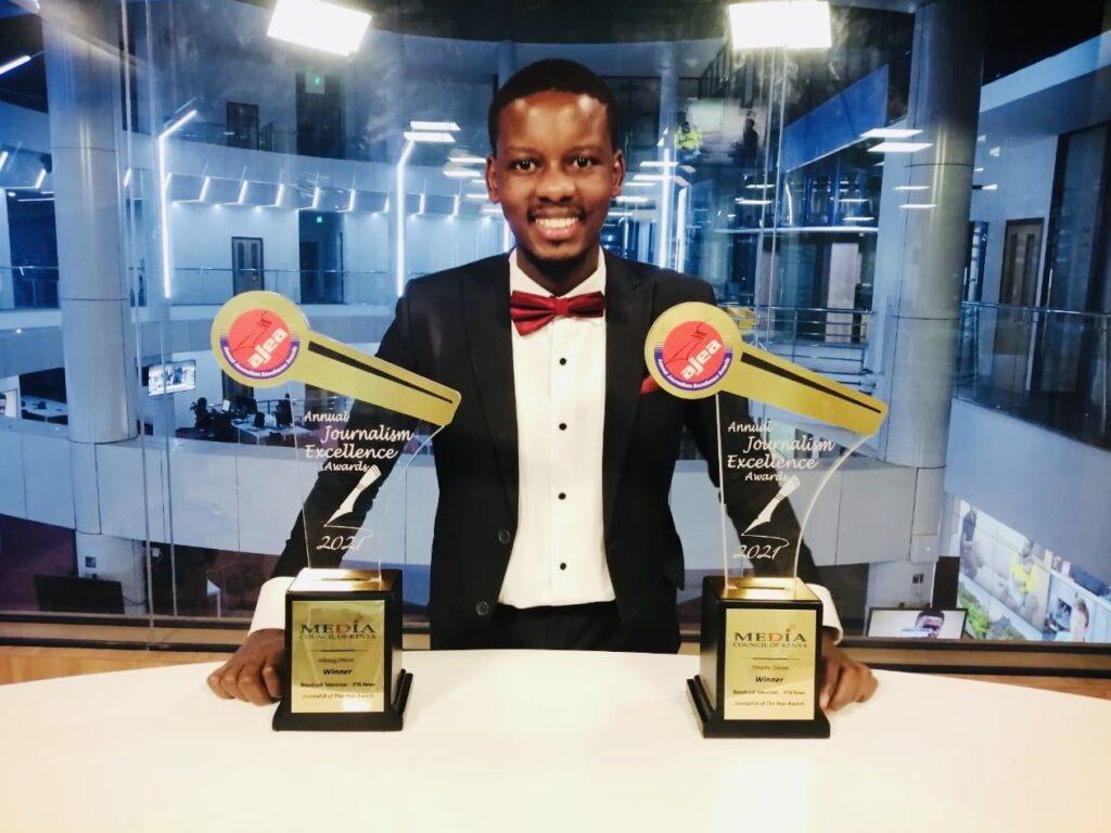Timothy Otieno awards