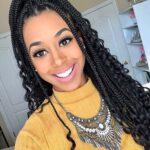 How to Easily Style Box Braids- Black Girl Magic