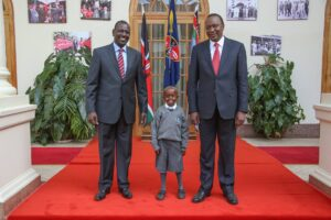 Making an appointment to meet president Uhuru