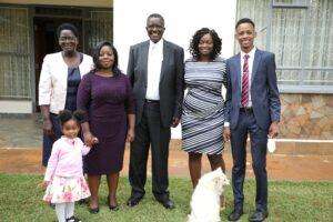David maraga wife and children